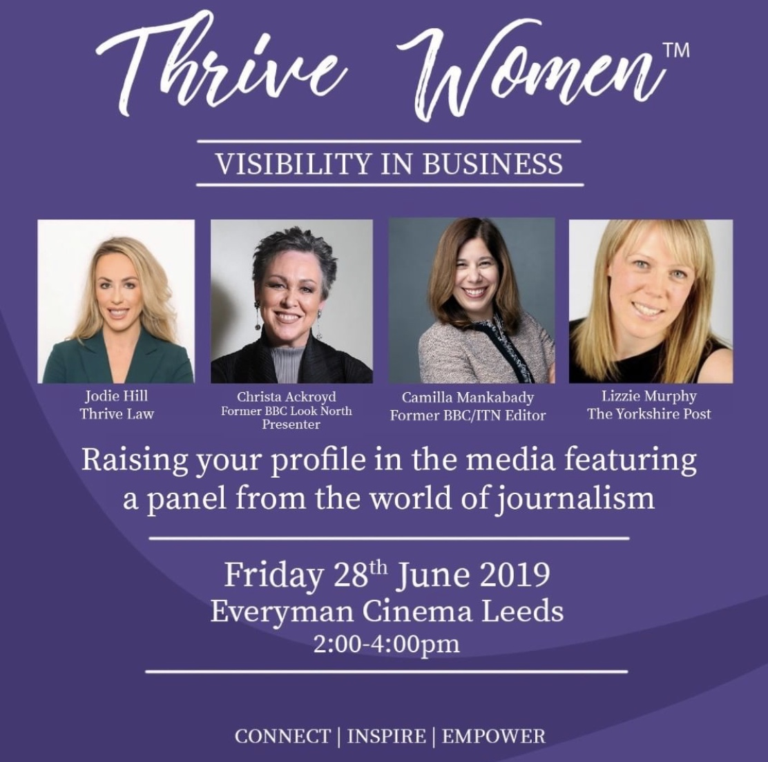 Thrive Women Visibility In Business Event