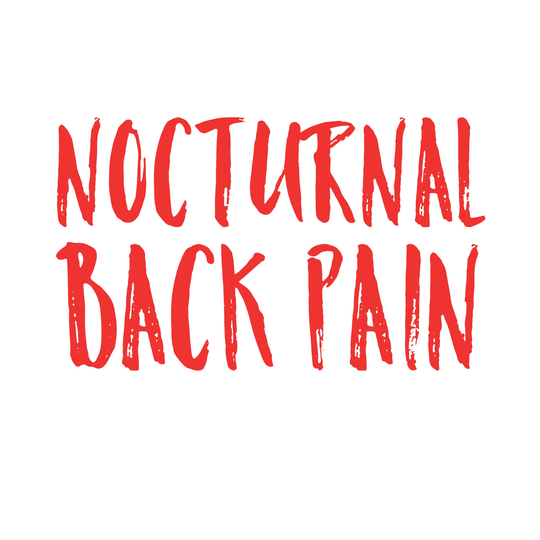 Nocturnal Back Pain